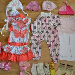 Ρούχα για κορίτσια p.9-12 μηνών