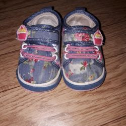 Sneakers for a girl 20 p. Art. 12cm