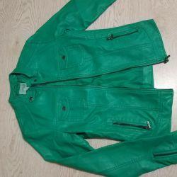 Jacket leatherette 48