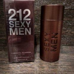 Apa de toaletă Carolina Herrera - 212 bărbați sexy