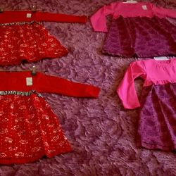 New beautiful dresses with long sleeves (Russia)