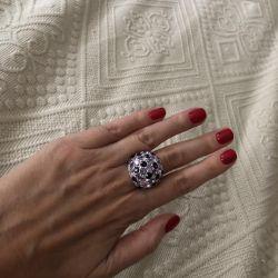 Δαχτυλίδι Swarovski. Αρχικό