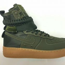 🔥Nike Air Force SF AF1. Army Green. Sneakers
