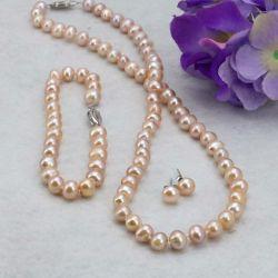 Beige Pearl Set