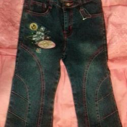 Jeans for a girl new 3 -4 years old