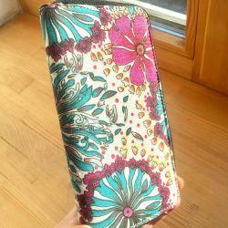 New bright wallet