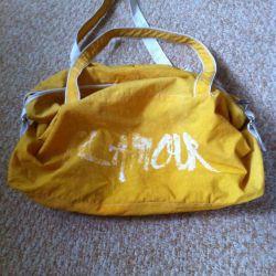 Beach bag, roomy