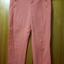 Cotton pants, p.46. Gently Coral Color