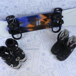 Burton Ripcord 156 cm snowboard + bindings + boots