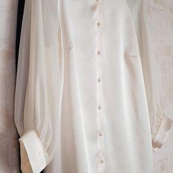 Charuel markalı bluz - ipek + şifon