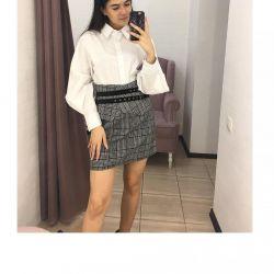 Πουκάμισο με φούστα 💎