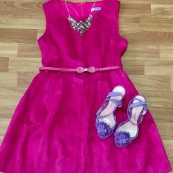 Φόρεμα / Σανδάλια / Ζώνη