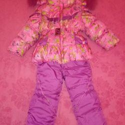 Winter suit 92 cm