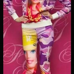 Barbie costume iSwag style