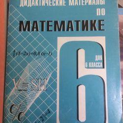 Mathematics 6th grade. Independent and control