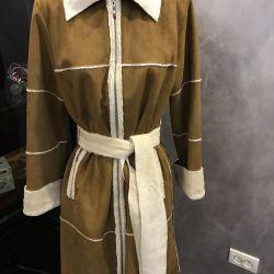 Sheepskin coat for women 44-46, 48 r, Spain, new
