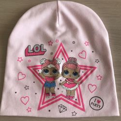 Hat for a girl of 7-10 years!