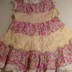 Dress 5-6 years summer