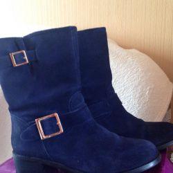 Boots suede Carlo Pasolino. 39 size.