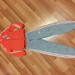 Suit for girls. Adidas