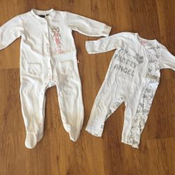 Two slips (size 12-18 months.)