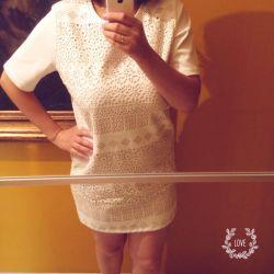 Кожаное платье befree