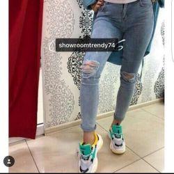 Новые джинсы 27размер