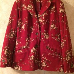 Jacket burgundy in colors
