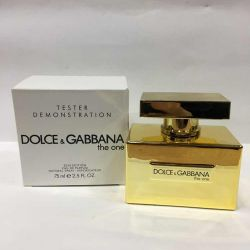 ✅ Tester Dolce Gabbana the one gold limited editio