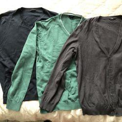 3 cardigans, size L (48 p)