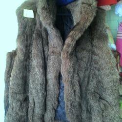 Reed Cat Fur Vest