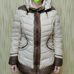 Winter jacket is very warm