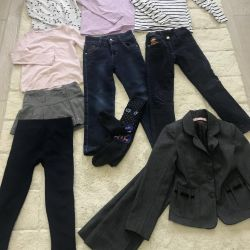 Winter clothes for 6 years