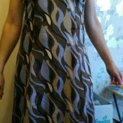 Φόρεμα γυναικεία μεταξωτό καλοκαίρι (sundress)