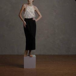 Hong Kong Kong Black Maxi Skirt