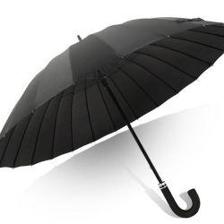 Зонт-трость мужской 24 спицы механический