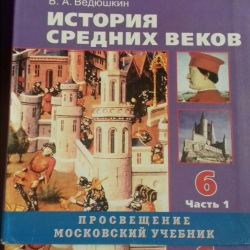 History of the Middle Ages Grade 6 Vedyushkin