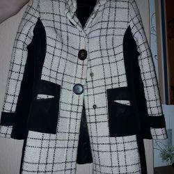 Over-season coat