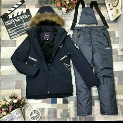 Suits for boys winter 128-152