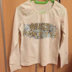 Panglică cu tricou cu mânecă lungă
