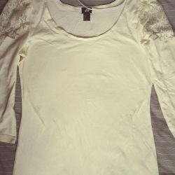 Örgü bluz H & M. L boyutu