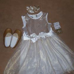 Bayramlık elbise 110-116