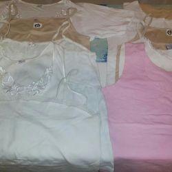 Kadınlar için tişörtler42-52.