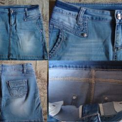 Denim brand skirt in excellent condition