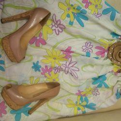 Костюм летний туника+ юбка