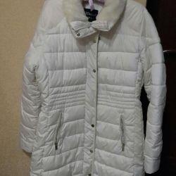Пальто-куртка пуховик, р.48-50