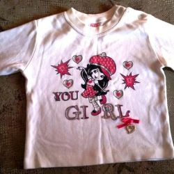 Blouse for girls. Turkey. 1.5 years