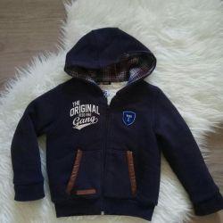 Детская куртка-толстовка