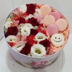 Τριαντάφυλλα σε κουτί