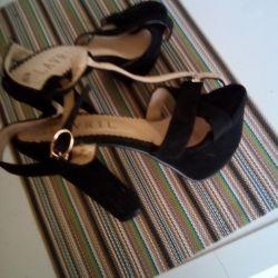 Sandalet süet 38